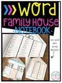 Word Family House: Word Family Building and Writing All In