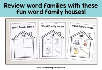 Word Family Worksheets and Posters