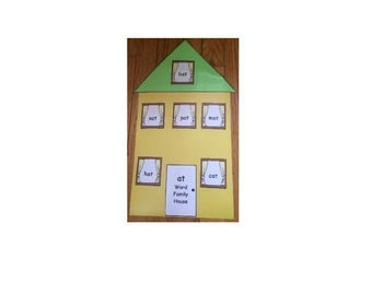 Word Family Houses