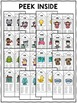 Spanish Syllable Word Family Houses 2