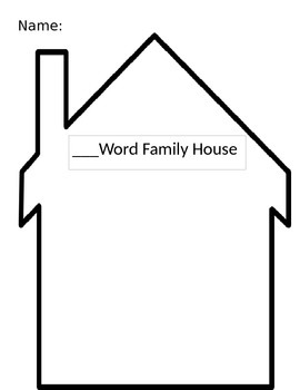 Word Family Houses Bundle