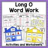 Word Work Centers and Activities for Long O
