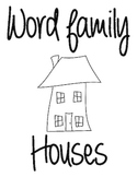 Word Family Houses - Short Vowel Word Families