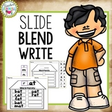Word Family Houses - Slide, Blend, and Write