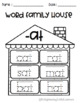 Word Family Houses Worksheets and Flip Books