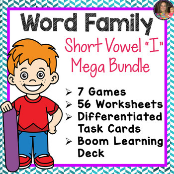 Word Family I Mega Bundle (CVCC)