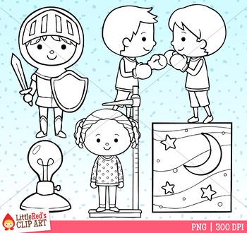 Word Family IGHT Clip Art