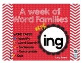 Word Family - ing family