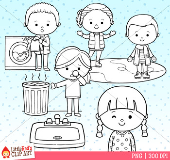 Word Family INK Clip Art
