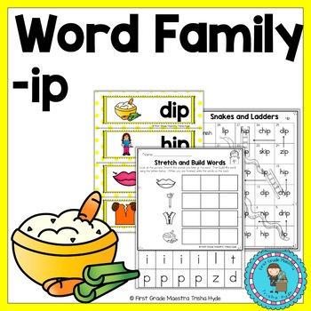 IP Word Family Word Work