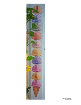 Word Family Ice Cream Sundae (word wall)