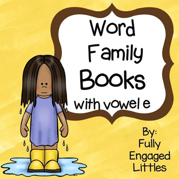Word Family Books Vowel e