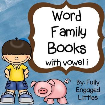 Word Family Books Vowel i