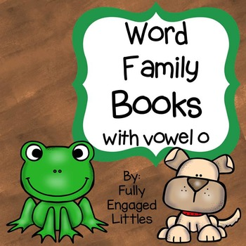 Word Family Books Vowel o