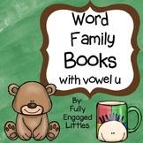 Word Family Books Vowel u