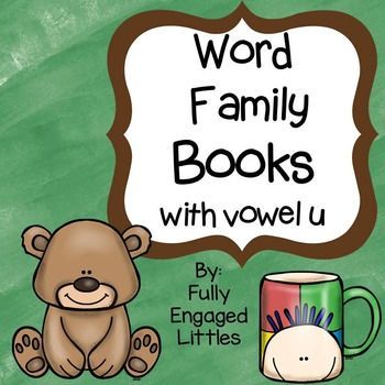 Word Family Books Vowel u