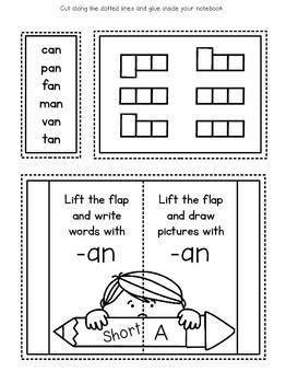 Short Vowel Interactive Notebook