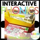 Word Family Interactive Phonics Mats