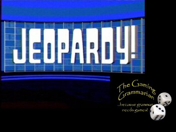 Word Family Jeopardy 2