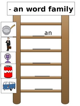 Word Family Ladders