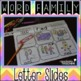 Word Family Letter Slides {CVC Edition}