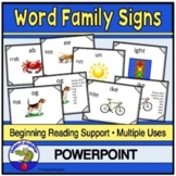 Word Families PowerPoint