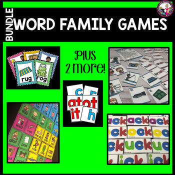 Word Family MEGA Bundle!!