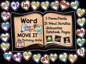 Word Family MOVE IT Mega Bundle