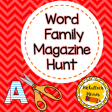 Word Family Magazine Hunt