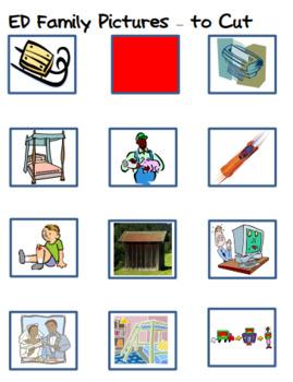 Word Family Making Words Literacy Center - ED Family