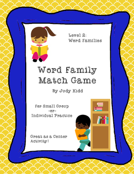 Word Family Match Game Level 2