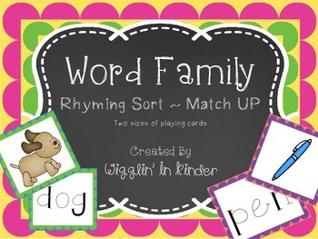 Word Family Match UP!