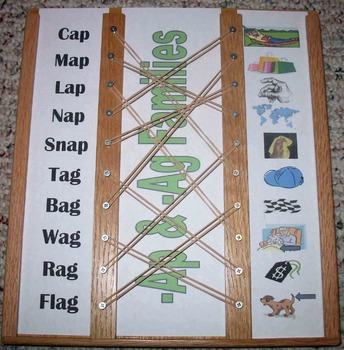 Word Family Match Up Bundle