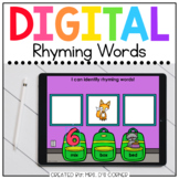 Word Family Matching - End of Year Digital Activity   Dist