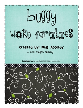 Word Family Mats- Insects