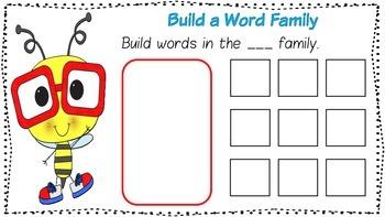Word Family Mats - short a