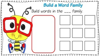 Word Family Mats - short e