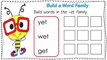 Word Family Mats - short e