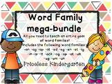 Word Family Mega Bundle