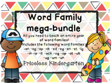 Word Family Mega Bundle
