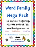 Word Family Mega Pack