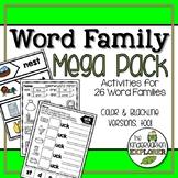 Word Family Mega Pack