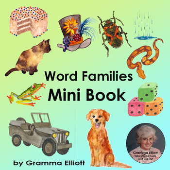Free Word Family Mini Book