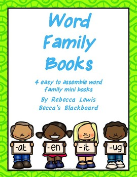Word Family Mini Books