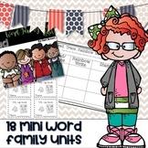 Word Family Mini Unit Series BUNDLE