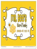 Word Family - Mr. Bee's Pre-K to K Word Family Set
