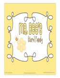 Word Family Mr. Bee's Word Family Learning Kit