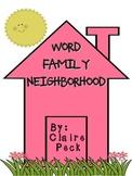 Word Family Neighborhood