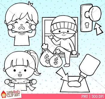 Word Family OB Clip Art