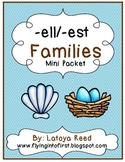 Word Family Packet ELL and EST